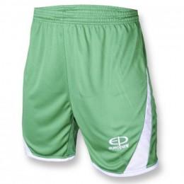 Шорты игровые Europaw 001 зелено-белые fb-euro-01480