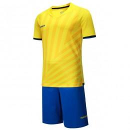 Футбольная форма Europaw 016 желто-голубая fb-euro-01733