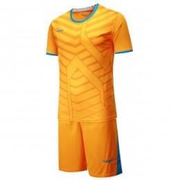 Футбольная форма Europaw 015 оранжевая fb-euro-01787