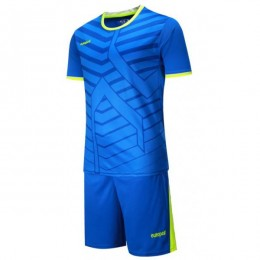 Футбольная форма Europaw 015 синяя fb-euro-01796