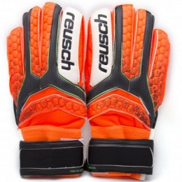 Перчатки вратарские Reusch Pro M1 replica оранжевые gk-euro-00549