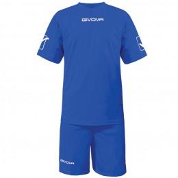 Футбольная форма Givova Kit Givova синяя KITC48.0002