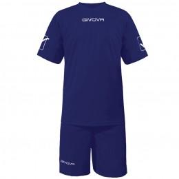 Футбольная форма Givova Kit Givova темно-синяя KITC48.0004