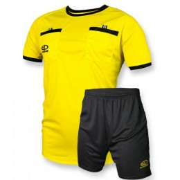 Судейская форма Europaw желто-черная sf-euro-00466