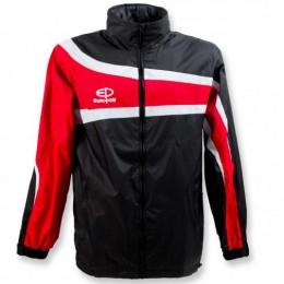 Куртка ветрозащитная Europaw TeamLine черно-красная suits-euro-00663