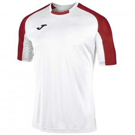 Футболка JOMA ESSENTIAL 101105.206 бело-красная