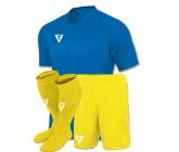 Футбольная форма Titar Универсал голубая(футболка+шорты+гетры)