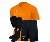 Акция! Titar футбольная форма оранжевая Universal(футболка+шорты+гетры)