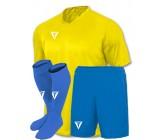 Детская футбольная форма Titar желтая(футболка+шорты+гетры)