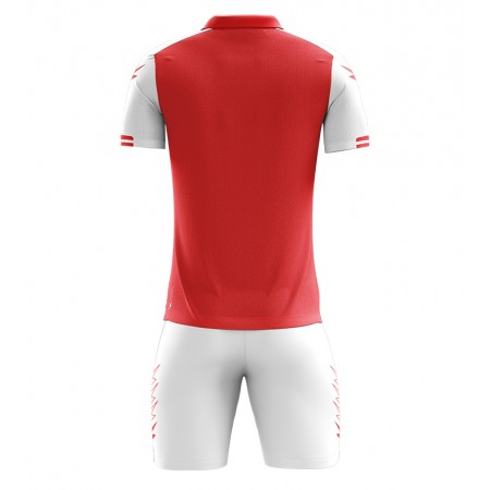 Футбольная форма Zeus KIT AQUARIUS футболка +шорты ROSSO BIANCO