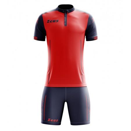 Футбольная форма Zeus KIT AQUARIUS футболка +шорты ROSSO BLU