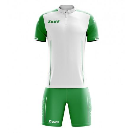 Футбольная форма Zeus KIT AQUARIUS футболка +шорты VERDE/BIANCO