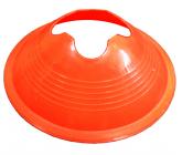 Футбольная фишка дисковая с укреплением жесткости оранжевая EUROPAW FB-model:853o