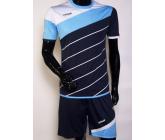 Футбольная форма FB-model:008 т.синяя-голубая EUROPAW