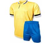 """Футбольная форма EUROPAW """"CLUB"""" FB-model:006 желто-синяя"""