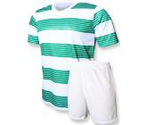 Футбольная форма Europaw club FB-006.9 бело-зеленая