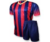 футбольная форма EUROPAW FB-006.1 сине-красная