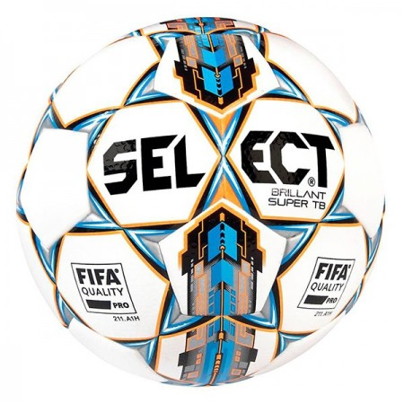 Футбольный мяч Select Brillant Super FIFA APPROVED белый размер 5 белый