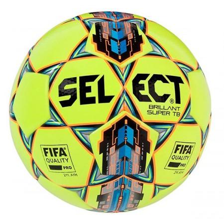 Футбольный мяч Select Brillant Super FIFA APPROVED желтый размер 5