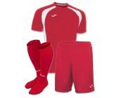 Акция! Комплект футбольной формы червоно-бiла Joma CHAMPION III 100014.602 (футболка+шорты+гетры)
