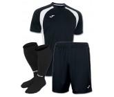 Акция! Комплект футбольной формы чорно-бiла Joma CHAMPION III 100014.102 (футболка+шорты+гетры)
