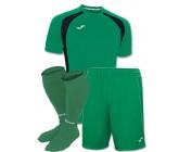 Акция! Комплект футбольной формы зелено-чорна Joma CHAMPION III 100014.451(футболка+шорты+гетры)