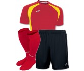 Акция! Комплект футбольной формы червоно-чорна Joma CHAMPION III 100014.609(футболка+шорты+гетры)