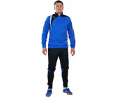 Костюм тренировочный с зауженными штанами сине - черный FB119519Vs EUROPAW