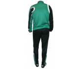 Костюм тренировочный с зауженными штанами FB-1113502z TR 2014 зелено - черный EUROPAW