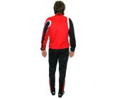 Костюм тренировочный с зауженными штанами FB-1113502k TR 2014 красно - черный EUROPAW