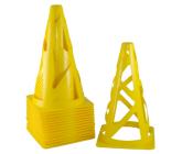 Конус футбольный мягкий желтый EUROPAW FB-model:851zh