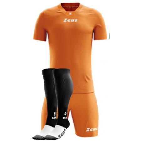 Футбольная форма оранжевая Zeus KIT PROMO футболка +шорты + гетры z00261