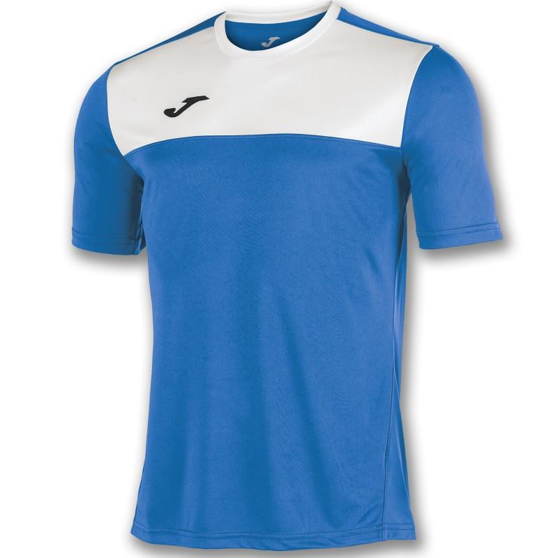 Футбольная форма Joma WINNER 100946.702-4(футболка+шорты+гетры) бело-голубая 2