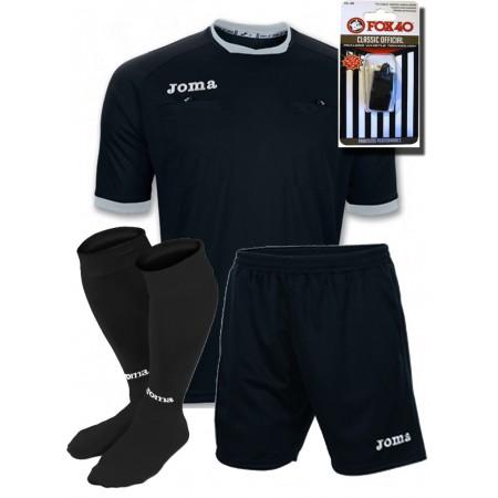 Акция! Судейская форма Joma ARBITRO 100011.111+шорты+гетры+свисток Fox 40