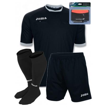 Акция! Судейская форма Joma ARBITRO 100011.111+шорты+гетры+блокнот с карточками