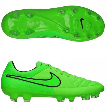 Бутсы Nike Tiempo Legacy FG зеленый