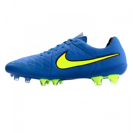 Продано! Бутсы Nike Tiempo Legacy FG голубые
