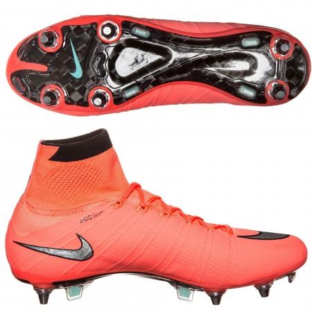 продано! Бутсы Nike Superfly SG Pro красные