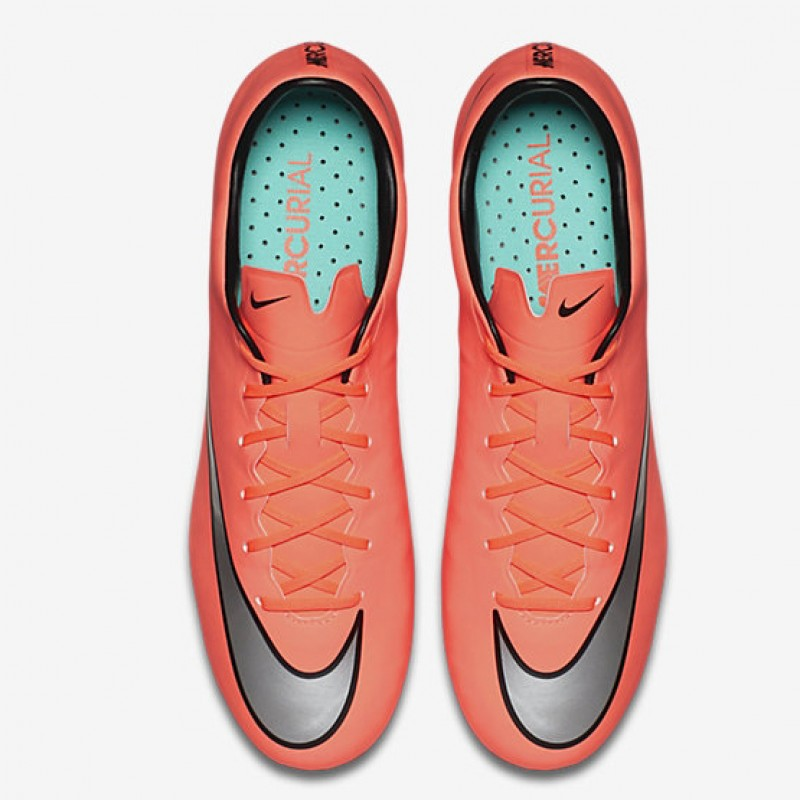 Продано! Бутсы Nike Mercurial Veloce II FG оранжевые