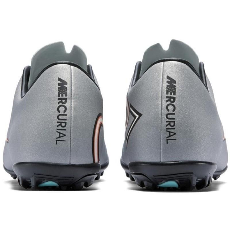 Сороконожки Nike Mercurial Victory V CR7 TF серые