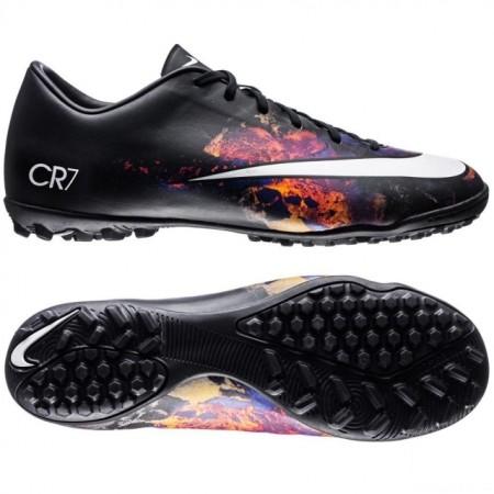 Сороконожки Nike Mercurial Victory V CR7 TF черные