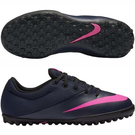 Детские сороконожки Nike MercurialX Pro TF синие