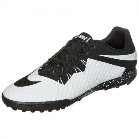Сороконожки Nike HypervenomX Finale TF черно-белые