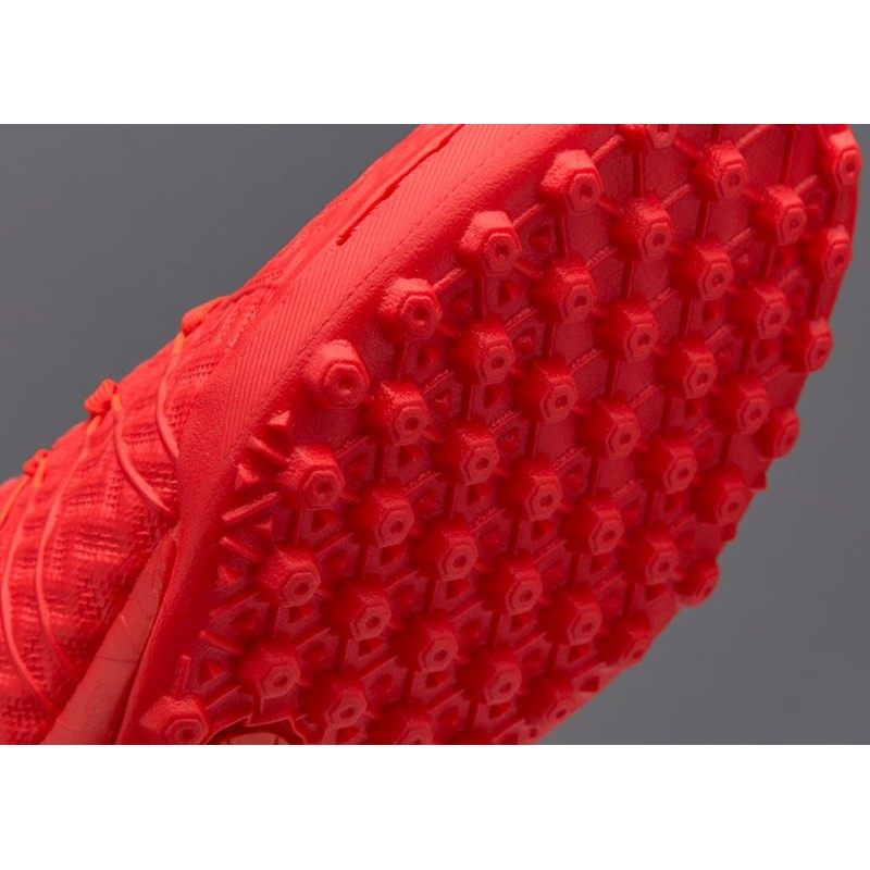 Сороконожки Nike HypervenomX Finale TF красные
