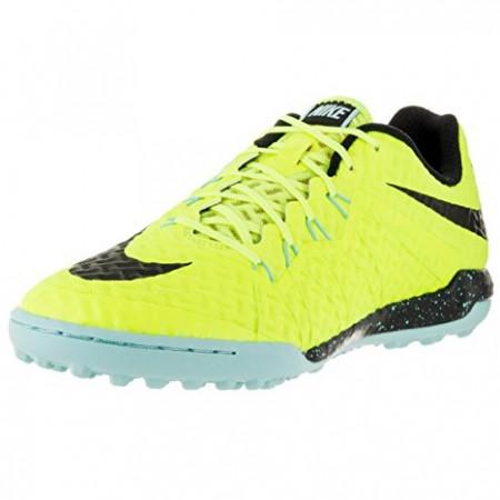 Сороконожки Nike HypervenomX Finale TF желто-синие