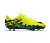 Бутсы Nike Hypervenom Phelon II FG желтые