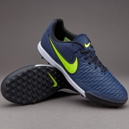 Сороконожки Nike MagistaX Pro TF синие
