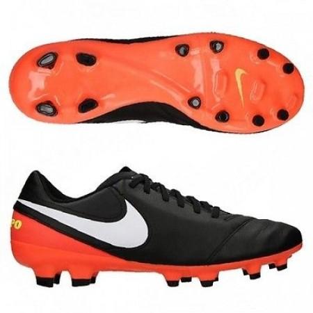 Бутсы Nike Tiempo Genio II FG черные