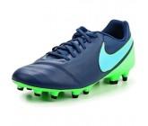 Бутсы Nike Tiempo Genio II FG синие