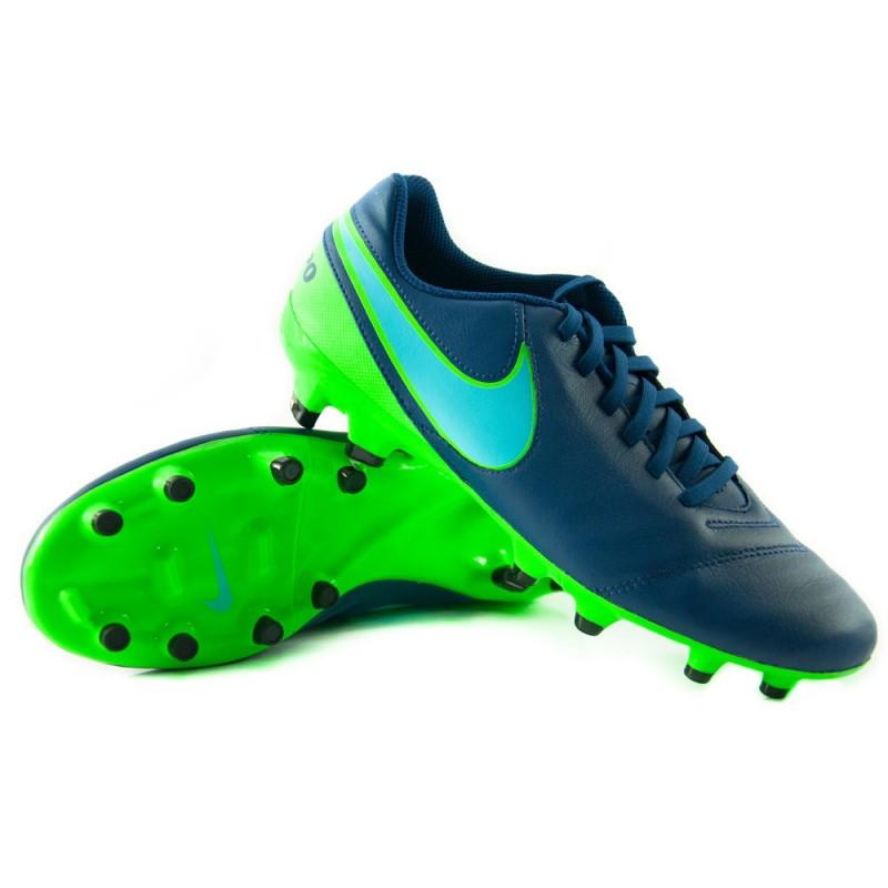 Продано! Бутсы Nike Tiempo Genio II FG синие